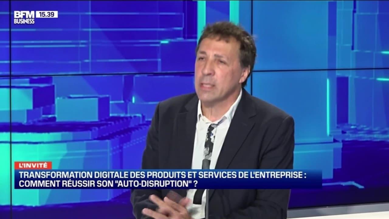"""Transformation digitale des produits et services de l'entreprise: comment réussir son """"auto-disruption"""" ? - 03/10"""