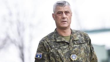Le président du Kosovo, Hashim Thaçi.