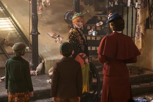Meryl Streep dans Mary Poppins