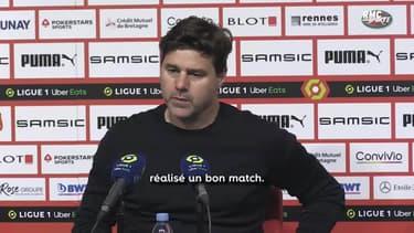 """Rennes 1-1 PSG : """"Le titre n'est pas encore perdu"""" croit Pochettino"""