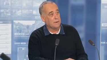 Sylvain Augier, sur le plateau de BFMTV, jeudi.