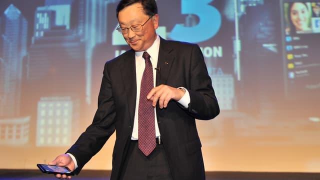 Le PDG de BlackBerry, John Chen, continue à vouloir développer l'offre de smartphones, et maintenant de tablettes.