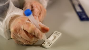 Un test PCR (illustration)