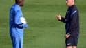 Rio Mavuba et Didier Deschamps