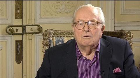 """Jean-Marie Le Pen souhaite """"une réconciliation"""" avec sa fille"""