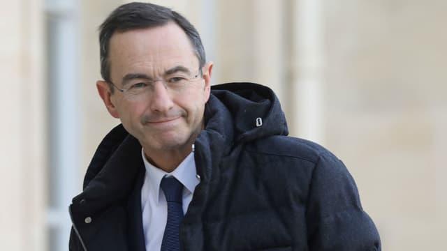 Le chef de file des sénateurs LR, Bruno Retailleau