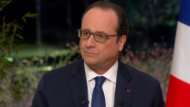 François Hollande, le 11 février.