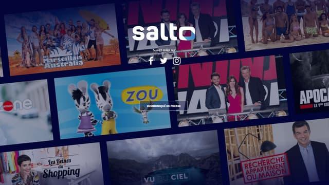 Page d'accueil de Salto