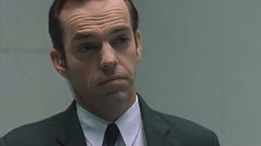 Hugo Weaving dans Matrix 4