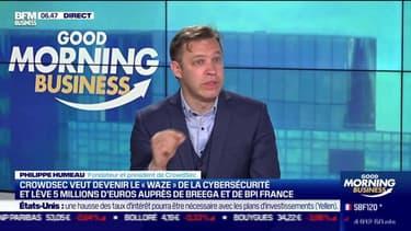 """Philippe Humeau (CrowdSec) : CrowdSec veut devenir le """"Waze"""" de la cybersécurité - 05/05"""