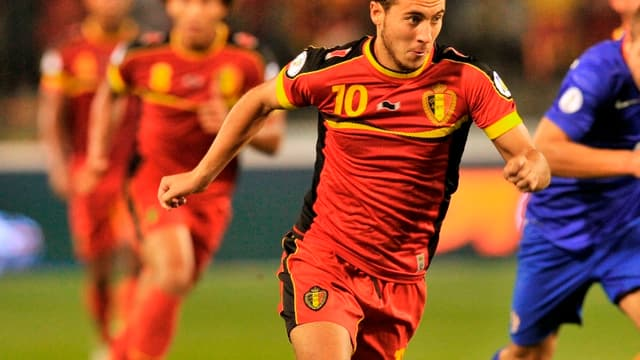 Eden Hazard affrontera la France mercredi