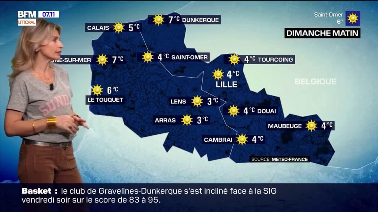 Météo Nord Pas-de-Calais: un ciel ensoleillé mais des températures fraîches attendus ce dimanche, 13°C à Arras et au Touquet