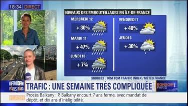 La circulation particulièrement difficile cette semaine en Ile-de-France
