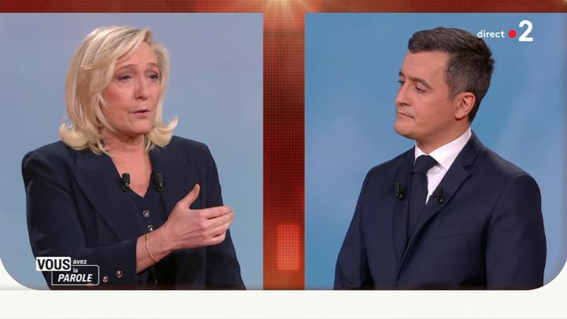 Trappes: Marine Le Pen s'en prend au préfet des Yvelines, Gérald Darmanin prend sa défense