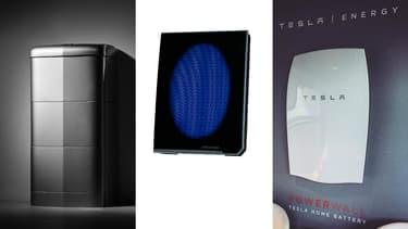 Les batteries domestiques Mercedes-Benz, Nissan et Tesla.