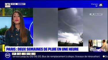 Qu'est ce qu'un tuba, ce phénomène météorologique que les habitants d'Etampes ont pu observer lors des intempéries?