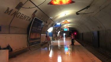 Les travaux du RER E se poursuivent jusqu'à dimanche soir.