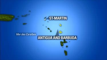Les deux collectivités d'outre-mer se situent dans les Caraïbes.