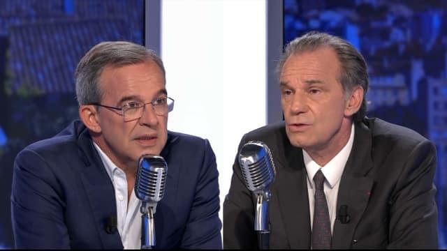 Renaud Muselier et Thierry Mariani le 24 juin 2021