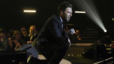 Christophe Maé aux Victoires de la Musique en 2011.