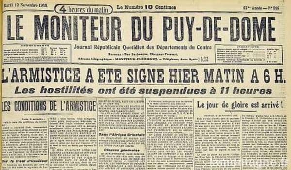 La Une du Moniteur du Puy-de-Dôme