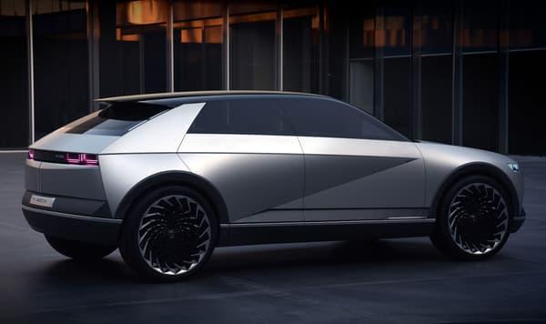 Ce concept 100% électrique a été dévoilé par Hyundai en 2019