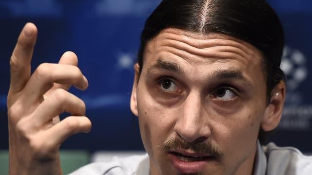Zlatan Ibrahimovic était invisible ce jeudi matin