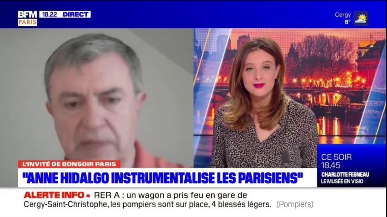 Paris: Jean-Pierre Lecoq, maire LR du 6e, dénonce avec d'autres élus de droite la politique de la mairie face au Covid-19