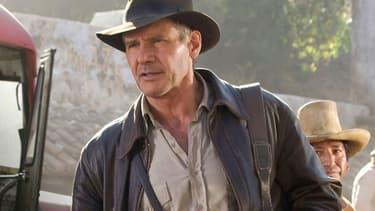 """Harrison Ford dans """"Indiana Jones et le Royaume du Crâne de Cristal"""""""