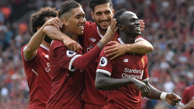 Les joueurs de Liverpool