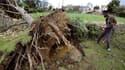 Dans le village de Saint-Hilaire-le-Vouhis, en Vendée, où s'est abattue l'une des tornades