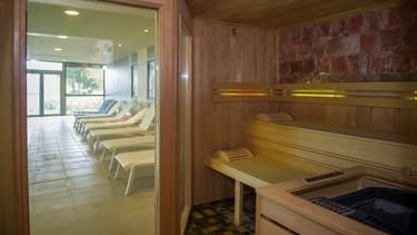 Un sauna. (photo d'illustration)