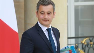 Gérald Darmanin à l'Elysée le 15 juillet 2020