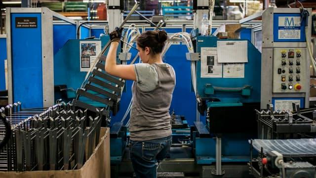 L'industrie manufacturière a détruit moins d'emplois depuis janvier que l'an dernier sur la même période.