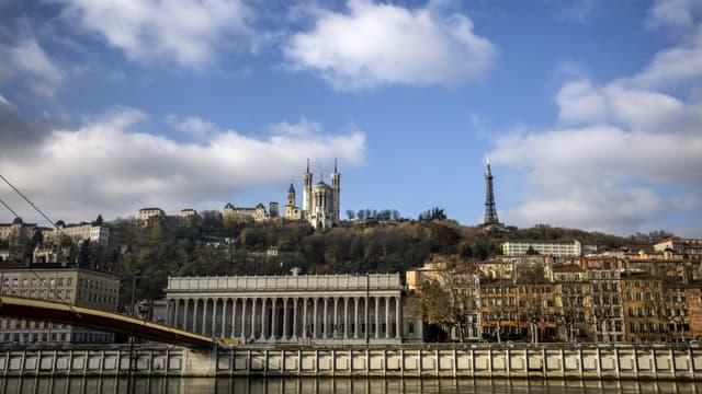 La Basilique de Fourvière à Lyon.