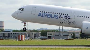Les ventes d'A350 décollent au salon du Bourget.