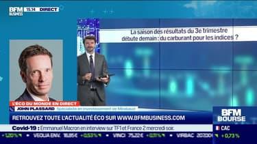 John Plassard (Mirabaud) : le début de la saison des résultats du troisième trimestre est-il un carburant pour les indices ? - 12/10