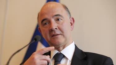 Pierre Moscovici a préféré voir le bon côté des prévisions de la Commission européenne.