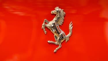 Le logo au cheval cabré de Ferrari