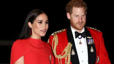 Meghan et Harry le 7 mars