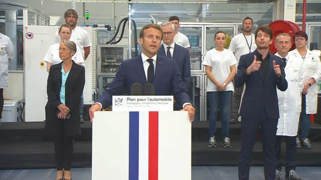 Emmanuel Macron le 26 mai 2020