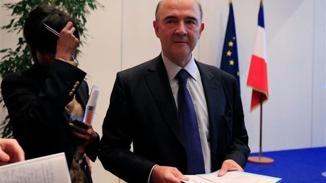 Conférence de presse mardi à Paris de Pierre Moscovici au lendemain de la dégradation par Moody's de la note souveraine de la France. Paris et Berlin se sont efforcés mardi de donner le change après cette dégradation, dans un contexte d'inquiétude sur les