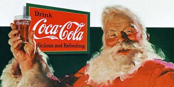 Publicité de Coca-Cola en 1931.