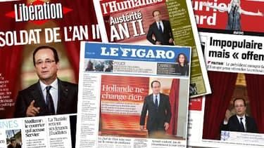 la plupart des grands journaux se sont montrés assez peu convaincus.