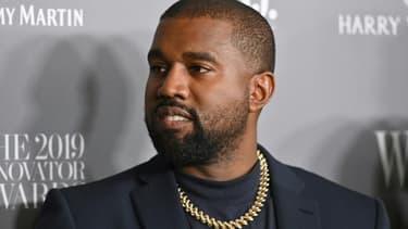 Kanye West, le 6 novembre 2019 à New York