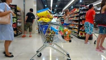 Les prix de l'alimentaire ont baissé de 0,6% sur un an