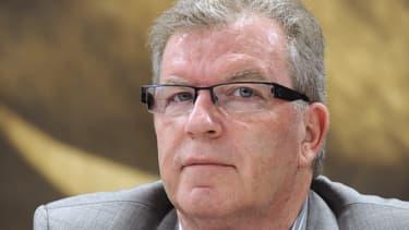 Jean-Pierre Moure, candidat socialiste à la mairie de Montpellier.
