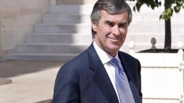 Jérôme Cahuzac lorsqu'il était encore ministre du Budget
