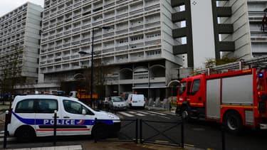 Un immeuble dans le quartier des Aubiers à Bordeaux.