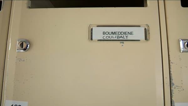 La boîte aux lettres de l'immeuble où logeait Amedy Coulibaly et Hayat Boumeddiene.